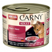 Carny Adult Beef + Heart 200 g