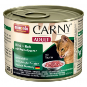 Carny Adult Beef + venison with cowberries 200 g