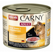 Animonda Carny Adult Beef, Chicken + Duck Hearts 200 g