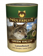 Green Valley with Lamb Meat, Salmon, Potatoes, Vegetables and Herbs 800 g van Wolfsblut