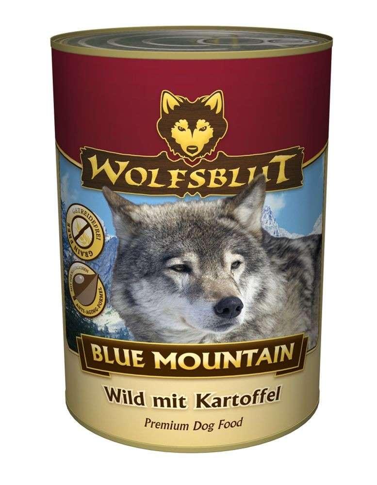 wolfsblut blue mountain jeu avec la pomme de terre 800 g. Black Bedroom Furniture Sets. Home Design Ideas
