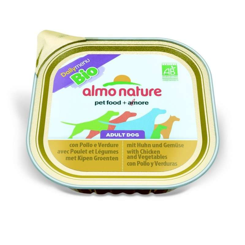 Almo Nature DailyMenu BIO Adult Dog Kip & Groente 300 g