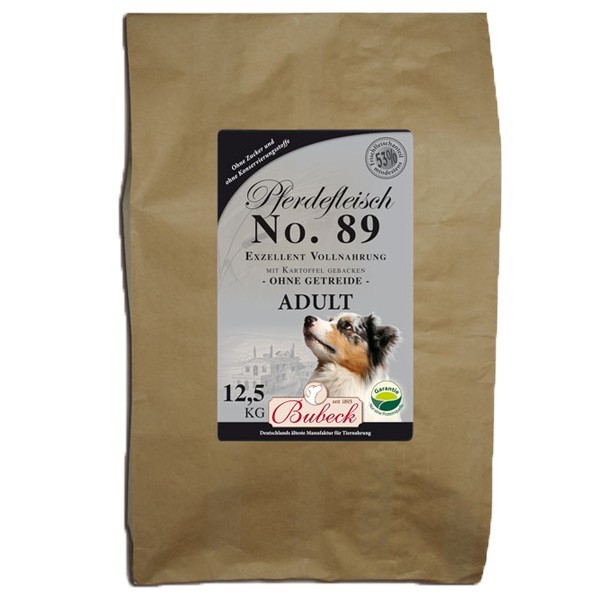 Bubeck No. 89 Horse meat with Potato 12.5 kg