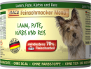 Feinschmecker Menü - Lamb, Turkey with Pumpkin & Rice canned 200 g från MAC's