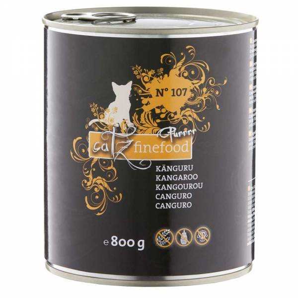 Catz Finefood Purrrr No. 107 Kangaroo, canned 800 g order cheap