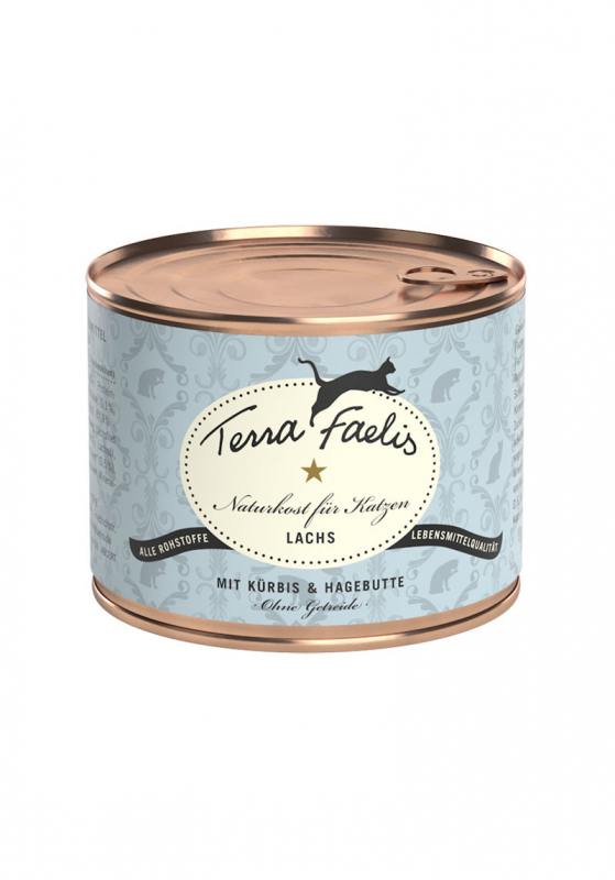 Terra Faelis Salmon with squash and rose hip 200 g