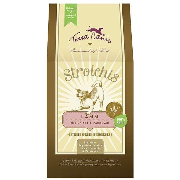 Strolchis Lam met Spinazie & Parmezaanse Kaas 200 g