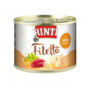 Rinti Filetto Chicken Fillet & Hearts in Jelly 210 g