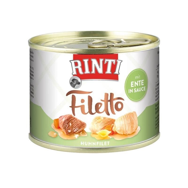 Rinti Filetto Poulet & Canard en Sauce 210 g