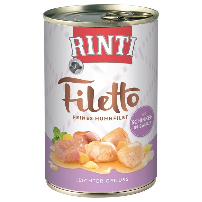 Rinti Filetto Poulet & Jambon en Sauce 420 g