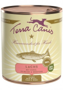 Terra Canis Classic Meals, Salmon with Millet, Peach & Herbs - Taste 800 g