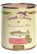 Terra Canis Menu Classic, Saumon avec Millet, Peches & Herbes 800 g