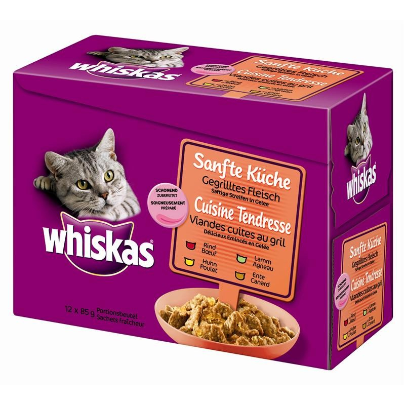 Whiskas Pouch Cuisine Grilled meat 12x85 g