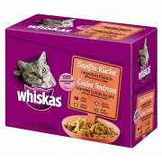 Whiskas Cocina Suave 12es Multipack Carne a la Parrilla 12x85 g