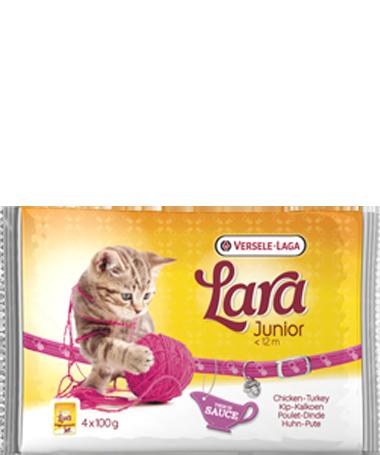 Versele Laga Lara Junior Kylling & Kalkun 4x100 g