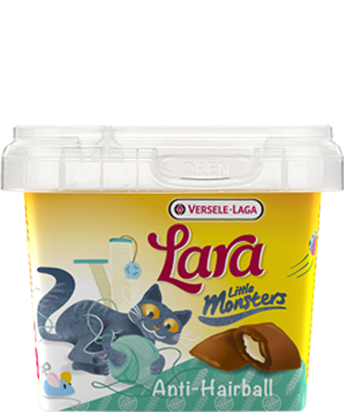 Versele Laga Lara Little Monster Crock Anti Hairball 75 g 5410340411803 anmeldelser