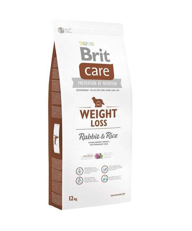 Brit Care Weight Loss med Kanin og Ris 12 kg