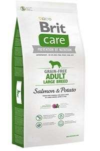 Brit Care Grain-free Adult Large Breed med Laks og Potet 12 kg