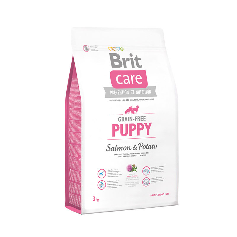 Brit Care Grain-free Puppy med Laks og Potet Laks & Potet