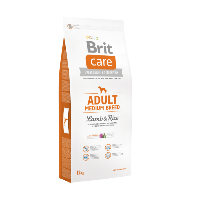 Brit Care Adult Medium Breed com Cordeiro & Arroz 8595602509928 opinião