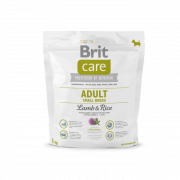 Brit Care Adult Small Breed med Lamm och Ris 1 kg
