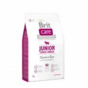 Brit Care Junior Large Breed med Lam og Ris 3 kg