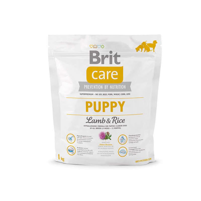 Brit Care Puppy met Lam & Rijst 1 kg 8595602509812