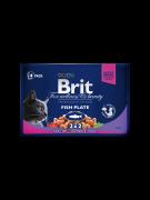 Brit Premium Pouches Bolsitas con Pescado 4x100 g