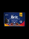 Brit Premium Pouches Meat Plate 4x100 g