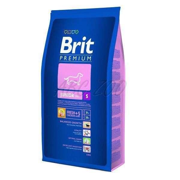 Brit PREMIUM JUNIOR SMALL 8 kg