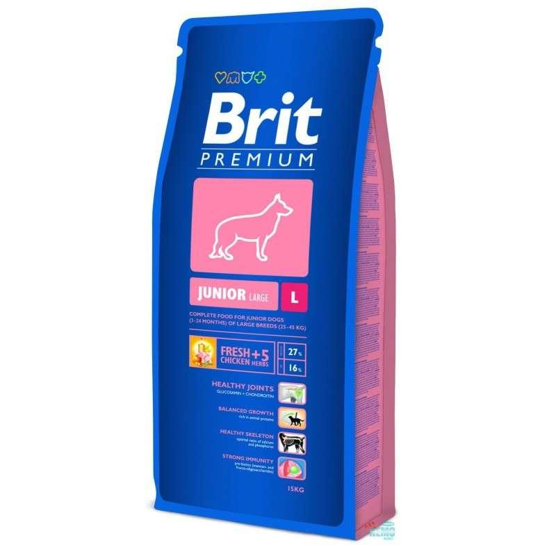 Brit Premium Junior L 15 kg, 3 kg