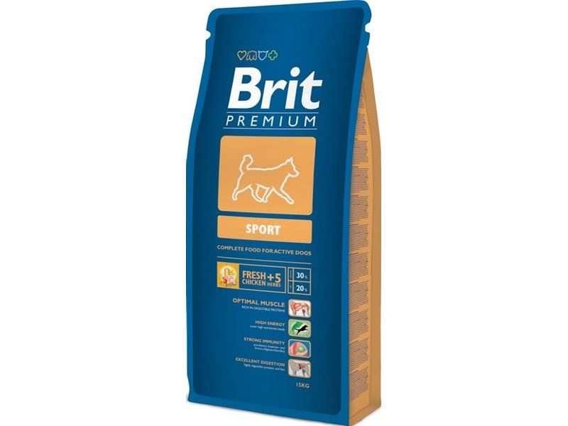 Brit Premium Sport 15 kg køb rimeligt og favoribelt med rabat