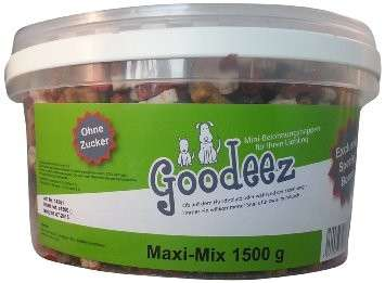 Goodeez Dog's Snack Maxi-Mix 1.5 kg kjøp billig med rabatt