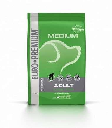 EURO-PREMIUM Medium Adult Lam & Rijst 3 kg, 12 kg
