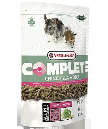 Versele Laga Complete Chinchilla & Degu 500 g 5410340612552