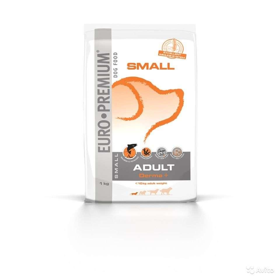 EURO-PREMIUM Small Adult Derma+ 1 kg