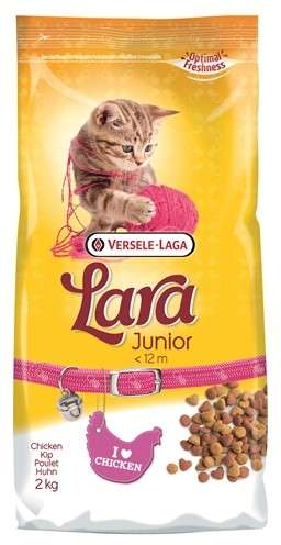 Versele Laga Lara Junior con Pollo 350 g, 2 kg