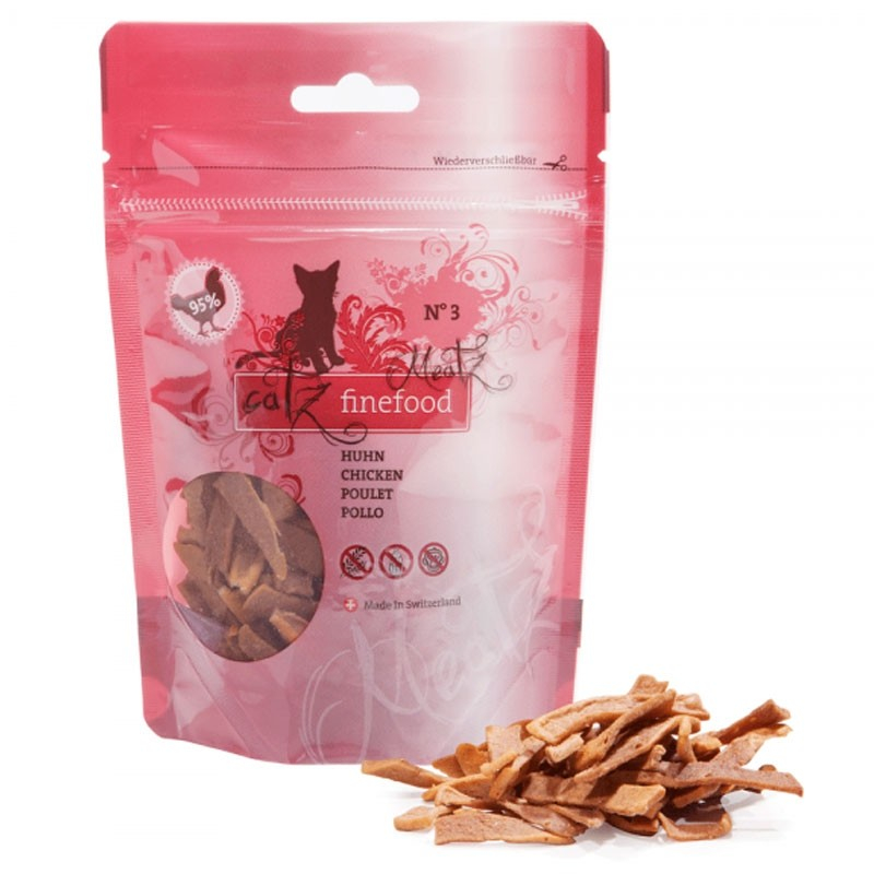 Catz Finefood Meatz No. 3 Pollo 45 g