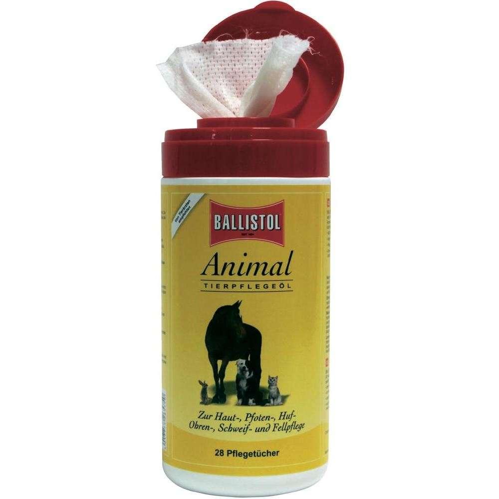 Ballistol Animal Pflegetücher (28 Stück)