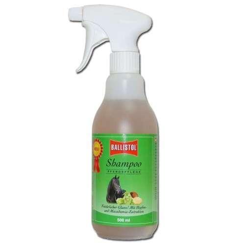 Shampoo para Cavalo com Lupulagem e Macadâmia 500 ml  da Ballistol Compre a bom preço com desconto