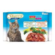 Stuzzy Multipack Sterilized with Chicken and Turkey 4x100 g