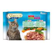 Stuzzy Multipack with ham, veal and rabbit 4x100 g