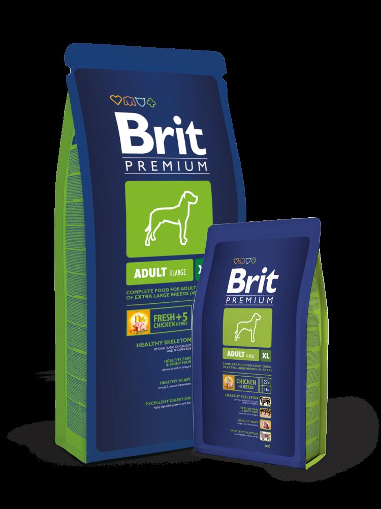 Brit PREMIUM ADULT XL 15 kg osta edullisesti