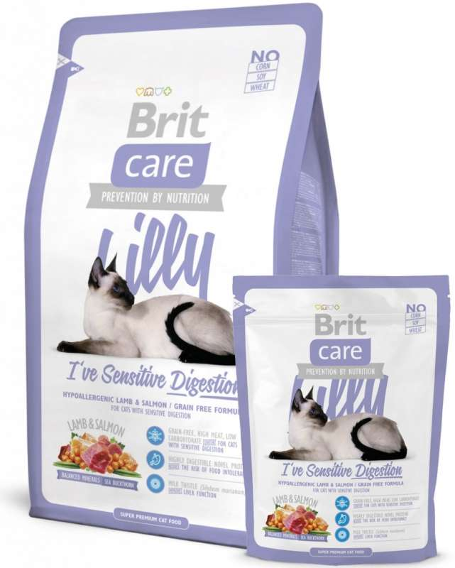 Brit Care Lilly I've Sensitive Digestion 7 kg, 400 g, 2 kg prueba