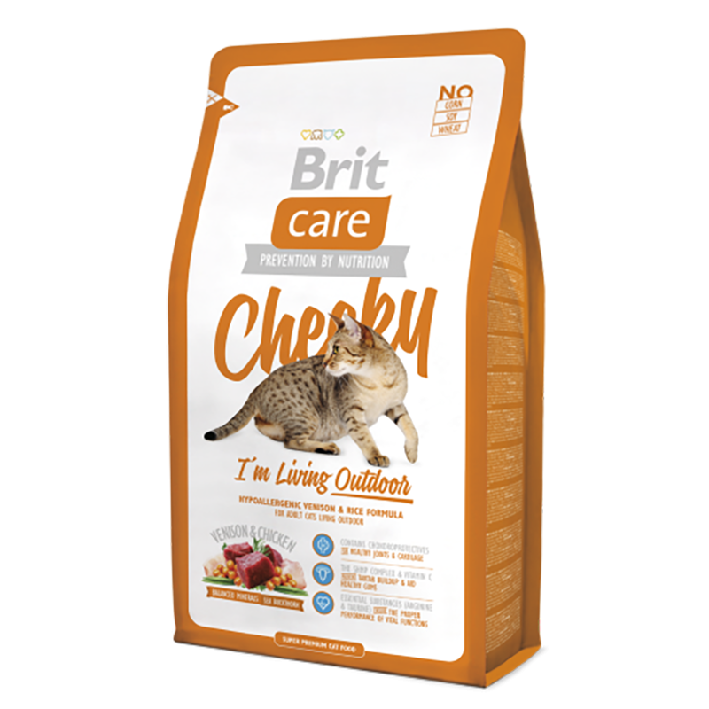 Brit Care Cheeky I'm Living Outdoor 7 kg, 400 g, 2 kg
