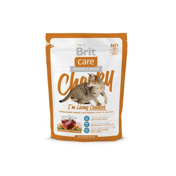 Brit Care Cheeky I'm Living Outdoor 400 g 8595602505685 erfaringer