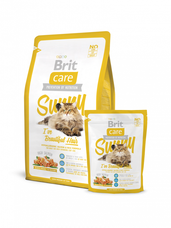 Brit Care Sunny I've Beautiful Hair 7 kg, 400 g, 2 kg test