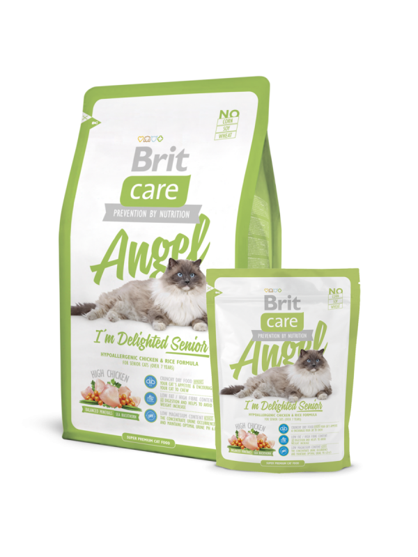 Brit Care Angel I'm Delighted Senior 7 kg, 400 g, 2 kg prueba