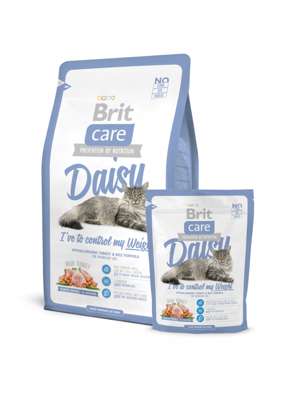 Brit Care Daisy I've to control my Weight 7 kg, 400 g, 2 kg