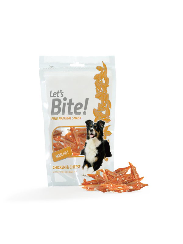 Let´s Bite Chicken & Cheese 80 g